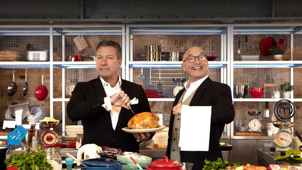 John Torode and Gregg Wallace from MasterChef
